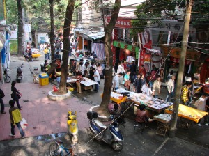Student Street, Fuzhou, 2007