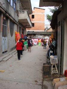 Religious celebration, Fuzhou, 2007