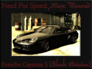 Porsche Cayman S (NFS: Most Wanted [Black Edition])