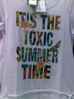 Toxic summer T-shirt