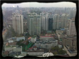 Shanghai from the 43rd floor
