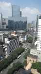 Chengdu, China. The view looking north along 大业路 (Da Ye Lu).