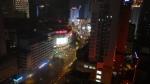 Chengdu, China. 大业路 (Da Ye Lu) by night.