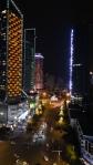 Chengdu, China. Night on 新广花街 (Xin Guanghua Jie).